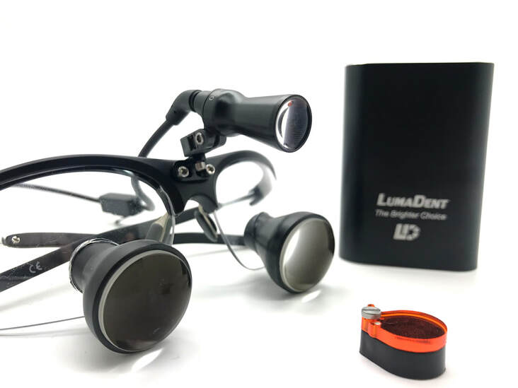 dental surgical loupes light LED